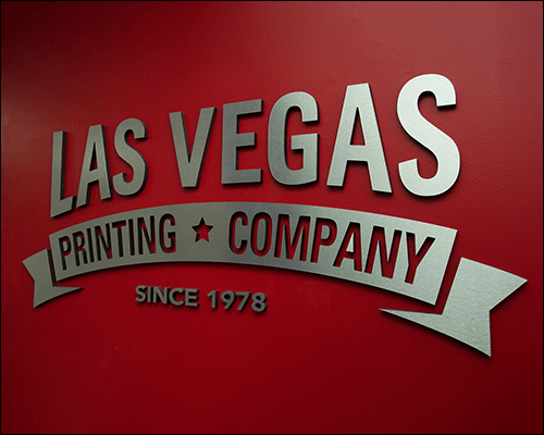 Custom 3D Dimensional Lettering with D.I.Y. Installation Template
