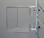 "Small Acrylic Cube Shelf for 30mm (1 1/4"") Truss Tubes"
