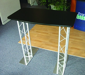 Beautiful Displays BK-TT-SD-2 Standalone Truss Table