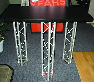 BK-TT-HD-3 Heavy Duty Standalone Truss Table