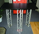 Heavy Duty Standalone Three Legged Truss Table