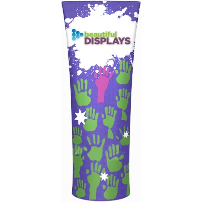 Attraction 'Straight Top' Dye-Sub Fabric Display