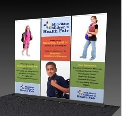 Great Buy™ Economy Retractable Banner Stand 3 Pack