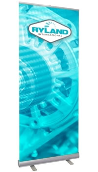 "Great Buy Professional™ 33.5"" x 88.8"" Single Sided Retractable Banner Stand"