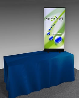 Great Buy™ Tabletop Retractable Banner Stand