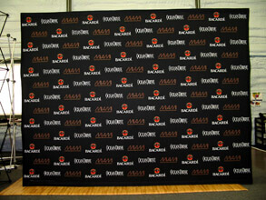 10' Step and Repeat Fabric Popup