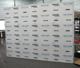 10' Fabric Popup Step and Repeat
