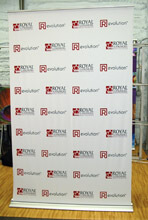 "48"" Banner Stand Step and Repeat"