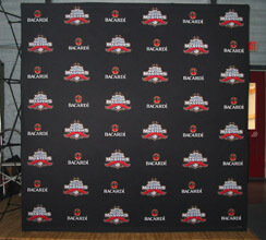 8' Fabric Popup Step and Repeat