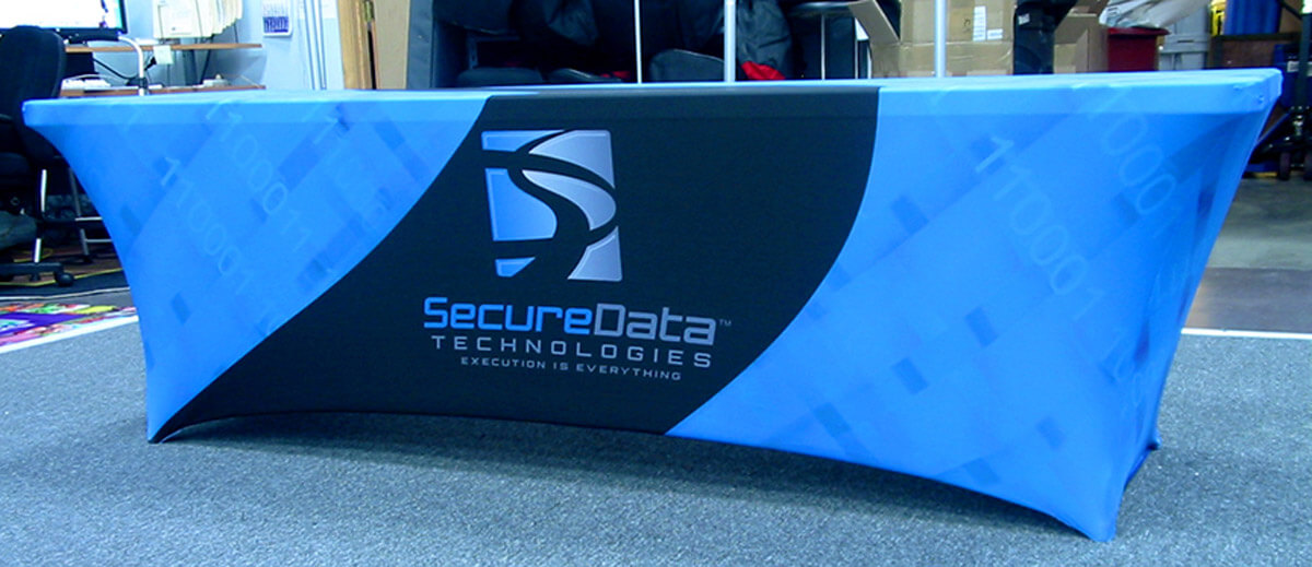 Table Covers With Logo Trade Show