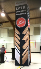 4' x 20' Square Tension Fabric Tower