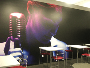 Wall Graphics for Cafeteria