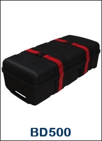 BD500 Heavy Duty Wheeled Shipping Case