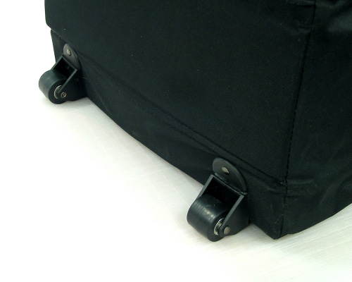 Nylon Carry Bag Wheel Detail