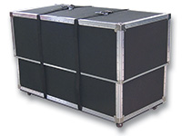 Hard Shipping Case for 20' x 20' Trade Show Carpet Package