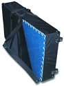 Wheeled Fabric Shipping Case for 10' x 10' Carpet Package