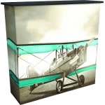 Great Buy™ Dye-Sub Fabric PopUp Counter