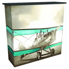 Great Buy™ Dye-Sublimated Fabric PopUp Counter