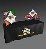 Xpressions SALESMATE Fabric Pop-Up Display Kits from BeautifulDisplays