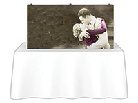 5 ft. x 2.5 ft. Embrace™ Tabletop Push-Fit Tension Fabric Display