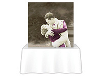 5ft. x 5ft. Embrace™ Tabletop Push-Fit Tension Fabric Display