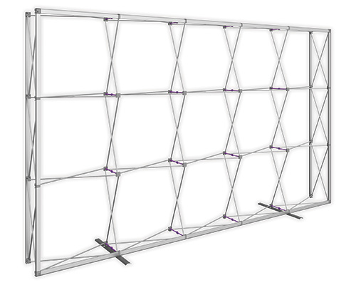 12.5 ft. x 7.5 ft. Embrace™ Push-Fit Tension Fabric Display - Frame Detail