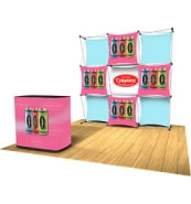 EXPRESS Fabric Displays from Xpressions SNAP
