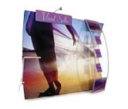 Nimlok® 'Wave' Fabric Displays