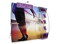 "Nimlok® ""Wave"" Dye-Sub Fabric Displays"