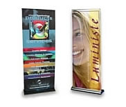 Custom Printed Dye-Sub Fabric Banner Stands from BeautifulDisplays' Fabric FACTORY™