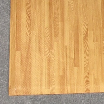 10' x 10' Comfort Tile Designer Interlocking Padded Flooring w/beveled edging