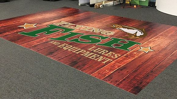 A 10' x 20' flooring project for a special event