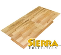 Sierra Collection Interlocking Hardwood Trade Show Flooring from K&S International