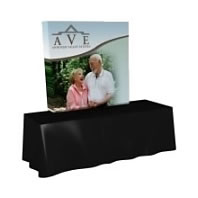 Great Buy™ Dye-Sub Fabric Tabletop Popup Displays from BeautifulDisplays.com