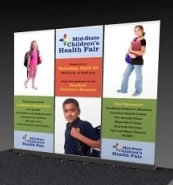 Great Buy™ Budget Banner Stand Three Pack