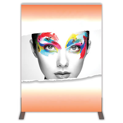 Groovy Wall™ Double-Sided Rectangular Light Box R-01 Front View