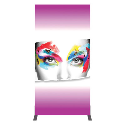 Groovy Wall™ Single-Sided Rectangular Light Box R-02 Front View