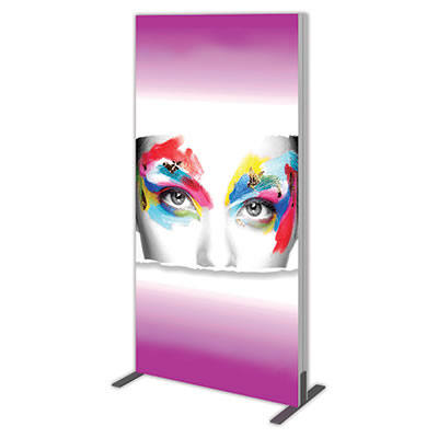 Groovy Wall™ Double-Sided Rectangular Light Box R-02 Side View