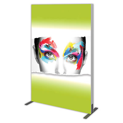 "Single-Sided Replacement Graphic for Groovy Wall 48.11"" x 71.12"" Backlit Display"