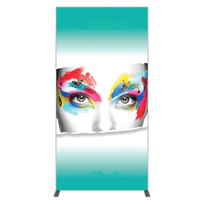 Groovy Wall™ Single-Sided Rectangular Light Box R-04 Front View