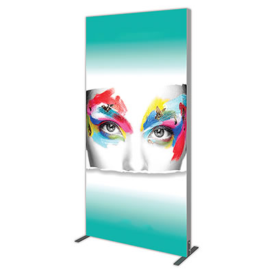 Groovy Wall™ Single-Sided Rectangular Light Box R-04 Side View