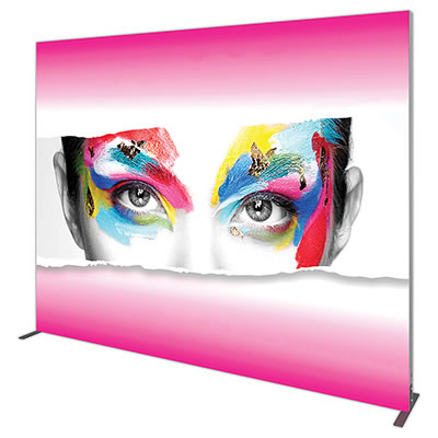"Double-Sided Replacement Graphic for Groovy Wall 118.99""x94.74"" Backlit Display"