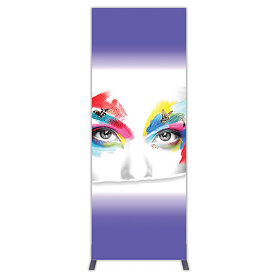 Groovy Wall™ Single-Sided Rectangular Light Box R-06 Front View