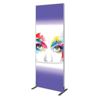 Groovy Wall™ Single-Sided Rectangular Light Box R-06 Side View
