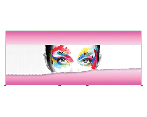 Groovy Wall™ Single-Sided Rectangular Light Box R-07 Front View