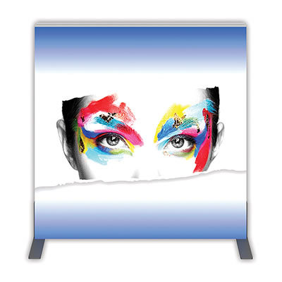 Groovy Wall™ Double-Sided Square Light Box S-01 Front View
