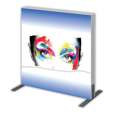 "Single-Sided Replacement Graphic for Groovy Wall 36.3"" x 35.68"" Backlit Display"
