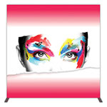 "Groovy Wall™ 71.73"" x 71.12"" Single-Sided Square Light Box Display"