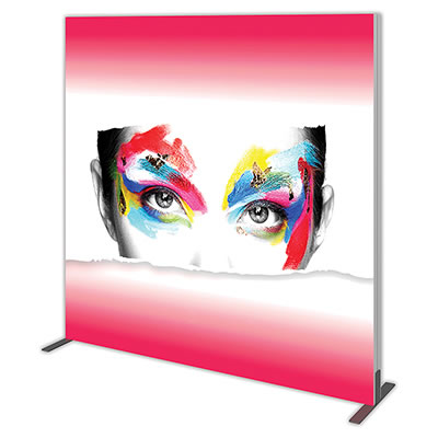 Groovy Wall™ Single-Sided Square Light Box S-03 Side View