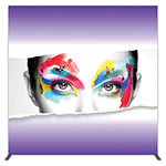 "Groovy Wall™ 95.35"" x 94.74"" Single-Sided Square Light Box Display"